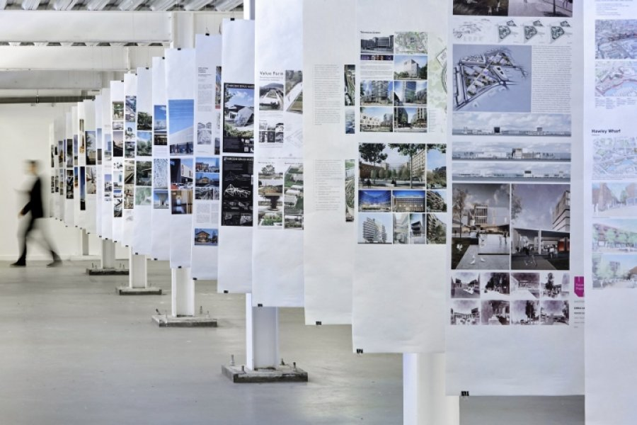 Part of the exhibition world-architects.com