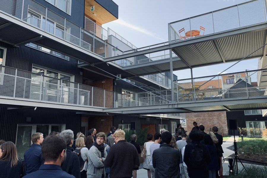 Inauguration of Lochten: a sustainable micro-neighbourhood