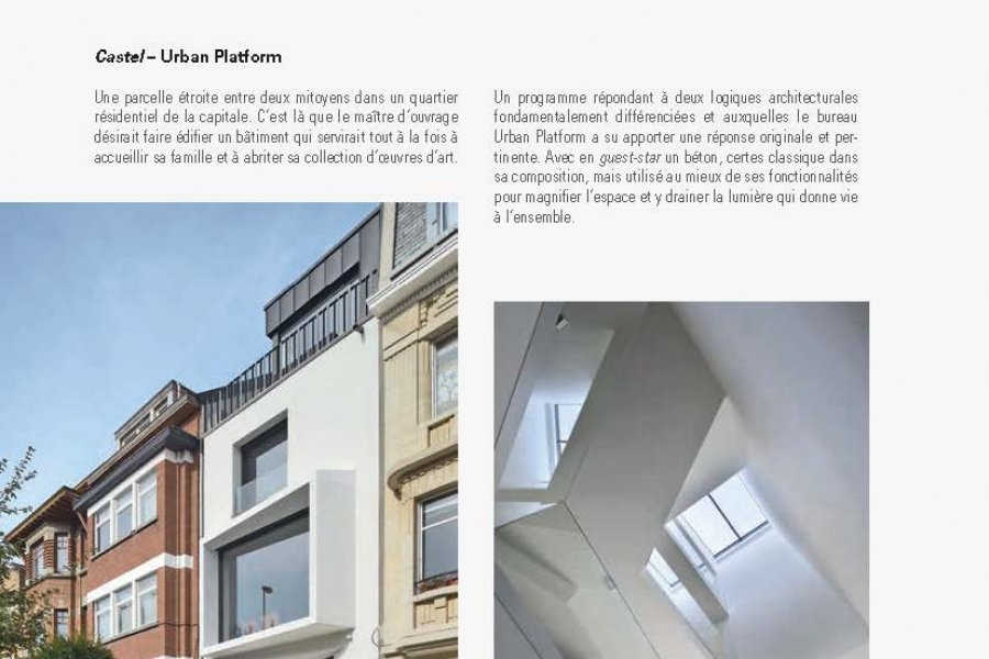 Castel is again in the spotlights in the last Architrave magazine